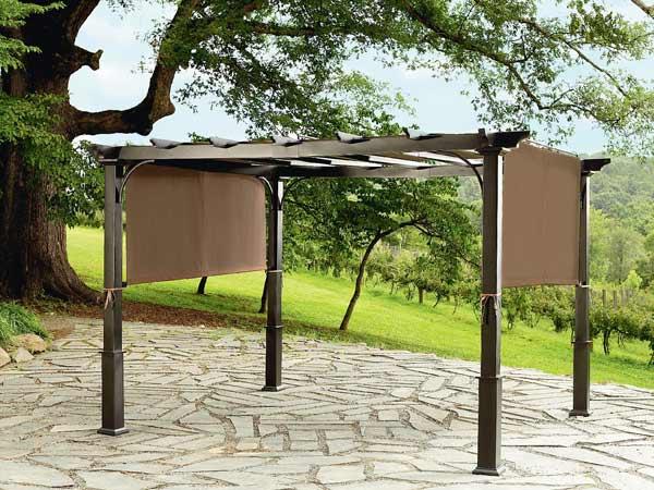 Tettoie in legno Treviso Giavera del Montello – vendita pompeiane coperture per giardini